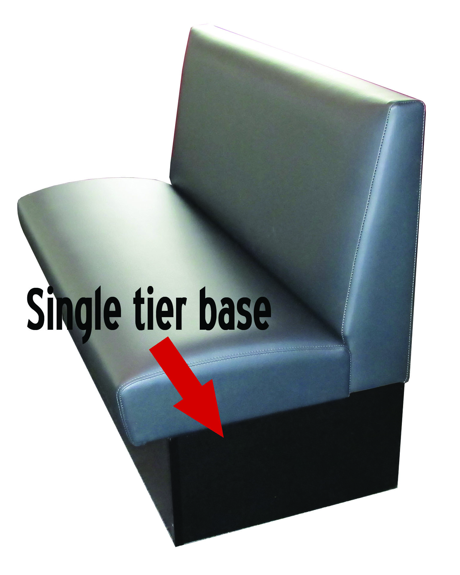 single tier base