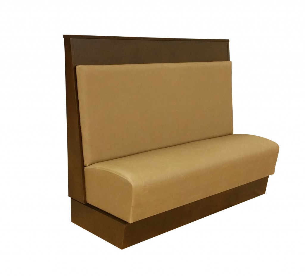 tan station booth interchangeable cushions